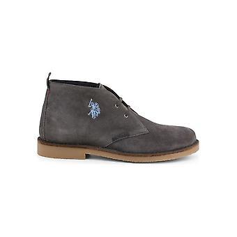 U.S. Polo Assn. - Shoes - Lace-up shoes - MUST3119S4_S19A_GREY - Men - gray - EU 42