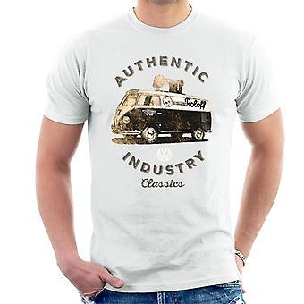 Volkswagen authentiek Industry Classics camper mannen ' s T-shirt