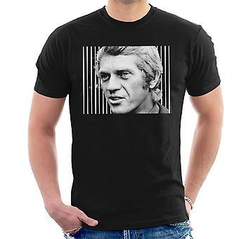 Steve McQueen London 1969 menn t-skjorte