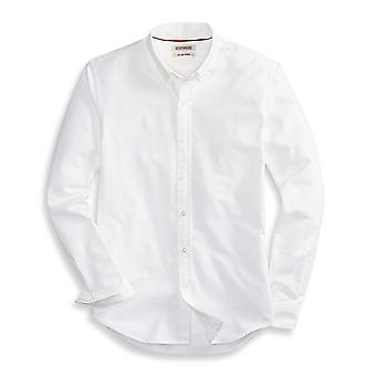 "Goodthreads Men's ""The Perfect Oxford Shirt""Slim-Fit Long-Sleeve Solid, White, XXX-Large Tall"