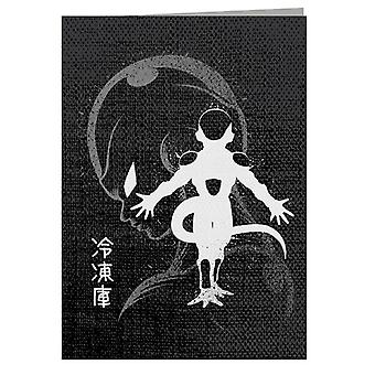 Inking Friezer Dragon Ball - Biglietto d'auguri