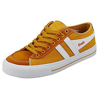 Gola Quota 2 Womens Casual Trainers in Sun