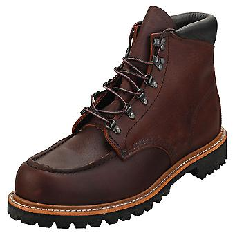 Red Wing 6-inch Sawmill Mens Classic Boots in Briar