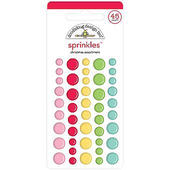 Doodlebug Design Jouluvalikoima Sprinkles (54kpl) (6441)