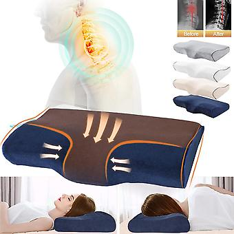 Butterfly Shaped Orthopedic Bed Pillows - Massage Memory Foam Pillow