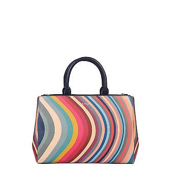 Paul Smith W1a5477cswirl90 Kvinnor's Multicolor Läder Tote