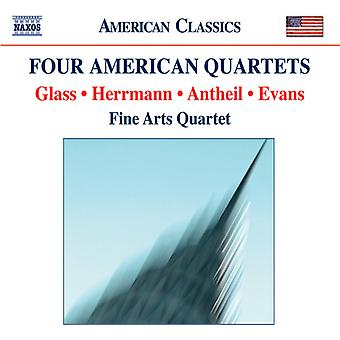 Glass/Evans/Herrmann/Antheil - Four American Quartets [CD] USA import
