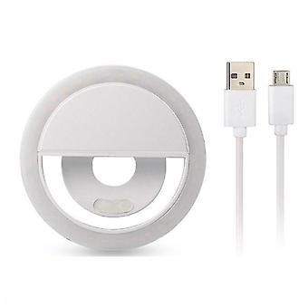 Usb Charge-led Selfie Ring Light Voor IPhone, Extra Verlichting Selfie