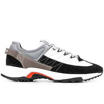 Filling Pieces Ezcr077002 Men's Multicolor Suede Sneakers