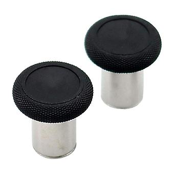 Replacement tall concave magnetic analog thumbsticks set for microsoft xbox one elite v1 controllers - black
