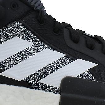 Adidas Marquee Boost Low Core Black/Footwear White-Shock D96932 Men's
