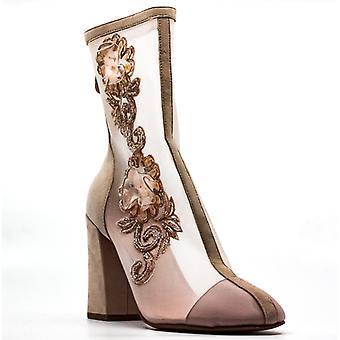 Avec Les Filles | Reagan Block Heel Boots