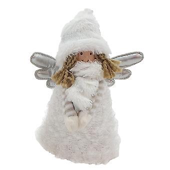 Anjo de pé Branco 23 cm