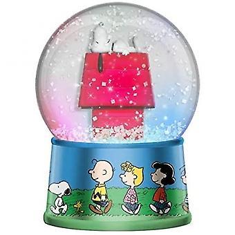 Jordnötter Snobben lyser upp Snow Globe