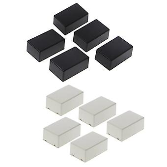 5pcs Plastic Electronic Project Box , Enclosure Instrument Case (70x45x30mm)