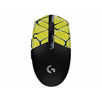 REYTID Durasoft Polymer Gaming Mouse Skin Grip Sticker Tape - PRE-CUT - Compatible avec Logitech G304 - Slip-Resistant, WaterProof et Ultra-Comfortable Grips