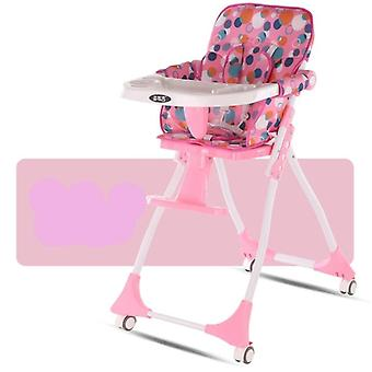 Összecsukható hordozható baba etetőszék bútor