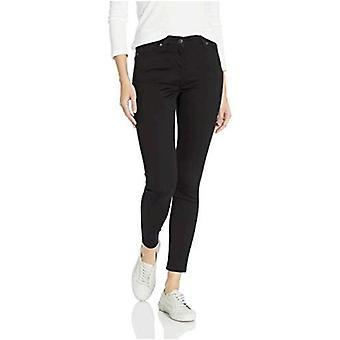 Essentials Women&s Skinny Jean Spodnie, Czarny, 18 Krótki