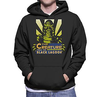 The Creature From The Black Lagoon Beam Head Men's Hooded Sweatshirt
