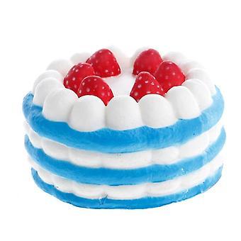 Yksisarvinen litteä kakku, panda, leipä ja kerma tuoksuvat hitaasti nouseva lievittää stressiä