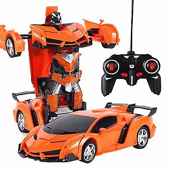 Rc Car Deformation Robot Driving Remote Control Sports