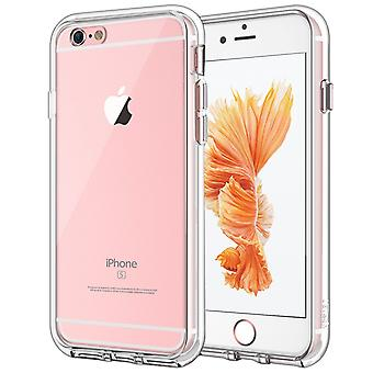 Jetech case for iphone 6 and iphone 6s, shock-absorption bumper cover, anti-scratch clear back, hd c