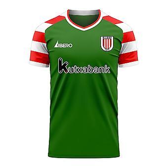Athletic Bilbao 2020-2021 Away Concept Football Kit (Libero) - Kids