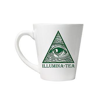 Caneca de chá de iluminação de grindstore