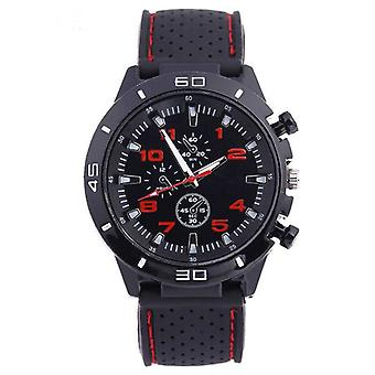 Sports's Watch Military Car Style Man Silicone Wristwatch Student