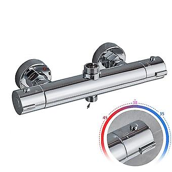 Chrome Plated-thermostatic Shower Faucets Set For Bathroom