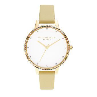 Olivia Burton Ob16rb20 Rainbow Bezel, Sunshine & Gold Bracelet Ladies Watch