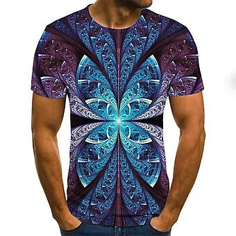 Nouveau Top Hip-hop Casual Casual Imprimé Summer 3d Pour Homme's Fashion Hip-hop