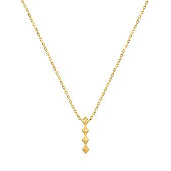 Collier Ania Haie Shiny Gold Spike Drop N025-01G