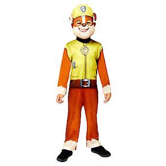 Boys Rubble costume - Paw Patrol