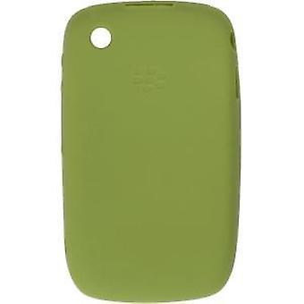 Funda de piel de silicona OEM BlackBerry 8520 8530 9300 9330 - verde