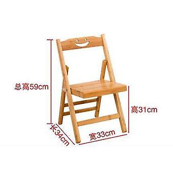 Anti-myopia puinen polvistuva tietokone asento tuoli suunnittelu oikea asento