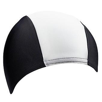 BECO Polyester Swimming Cap for Children - Black/White