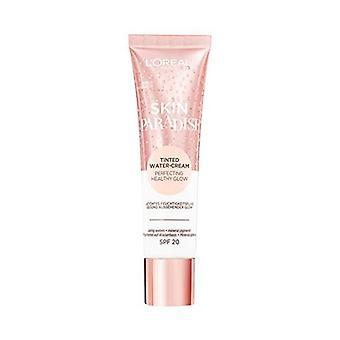 Fuktighetsgivende krem med farge hud paradis L'Oreal Make Up SPF20 02 Fair (30 ml)
