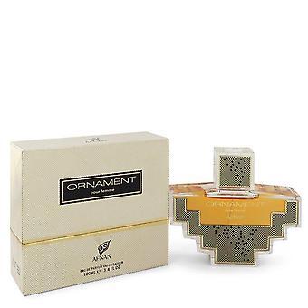 Afnan Ornament Eau De Parfum Spray By Afnan 3.4 oz Eau De Parfum Spray