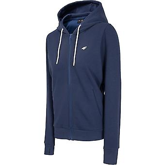 4F BLD004 NOSH4BLD004GRANATMELAN universal all year women sweatshirts