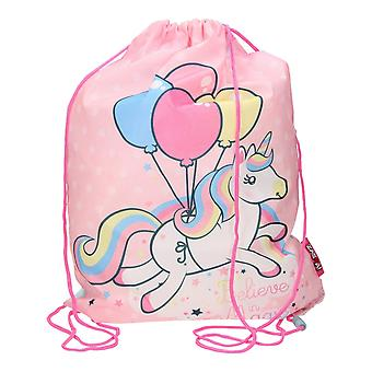 Unicorn Believe In Magic Gym Bag Shoe Bag 44x33cm