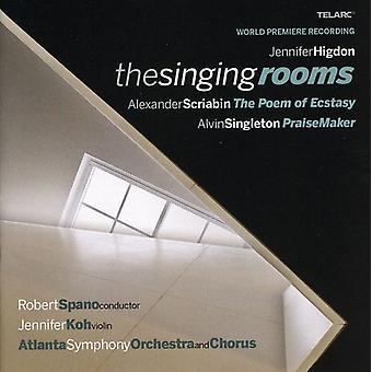 Spano/Koh/Aso - Jennifer Higdon: The Singing rum [CD] USA import