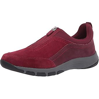 Easy Spirit Womens Cave Leather Low Top Zipper Fashion Sneakers
