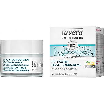 Lavera Base Sensitiv Crema hidratante Antiarrugas Q10 50 ml