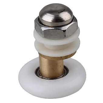 Glatte Partialität Dusche Schiebetür Roller Runner Wheel mit Kupfer Achse 25mm