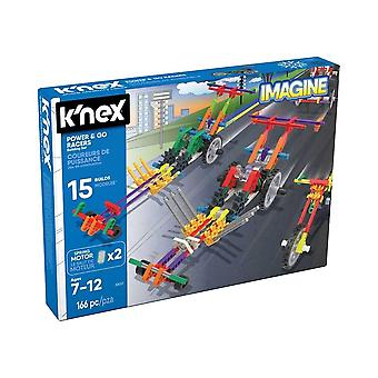 K'NEX Imagine Power & Go Racers Toy Building Set
