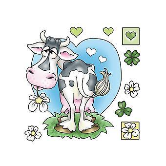 Jeje Marij Rahder Clear Stamps Cow