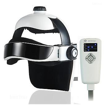 3D elektrische hoofd stimulator intelligente luchtdruk trillingen vinger pers ontspanning met muziek rustgevende relax helm