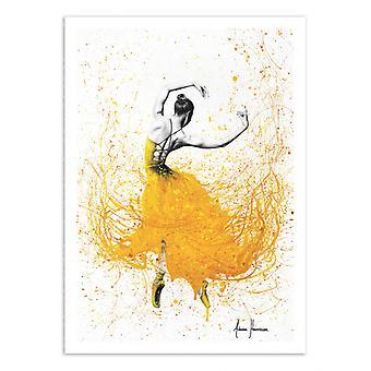 Art-Poster - Daisy Dance - Ashvin Harrison