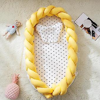 طفل سرير المحمولة سرير الطفل عش الأطفال مهد السرير النسيج الوفير.